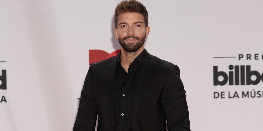 Pablo Alborán en los Latin Billboard 2020.