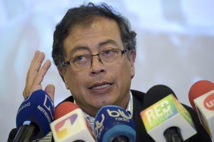 Gustavo Petro, que acudirá a instancias internacionales por asesinato de líderes de la Colombia Humana