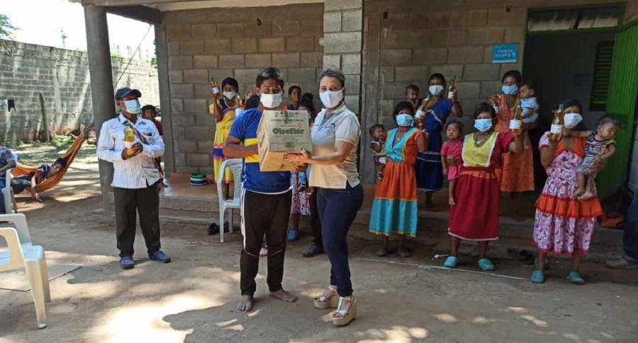 Imagen de las ayudas; empresarios les tienden la mano a comunidades del Cesar