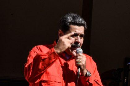 Nicolás Maduro, a propósito de la crisis en Venezuela.