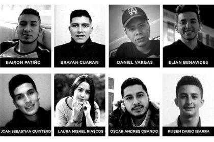 Rostros de víctimas de masacre en Samaniego