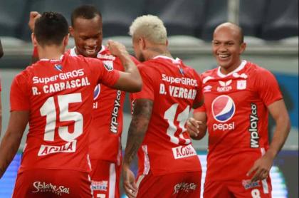 América vence 0-1 a Gremio y pasa de Copa Libertadores a Sudamericana.
