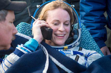 Astronauta estadounidense votó desde el espacio