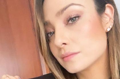 Selfi de Mónica Jaramillo, quien mostró que Isabel Cristina Estrada es su guapa compañera de ciclismo.