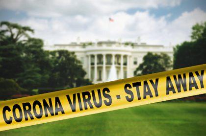 Casa Blanca admite que no puede controlar coronavirus.