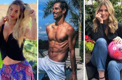 Santiago Giraldo fue novio de Melina Ramírez y Andrea Guerrero