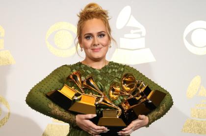 Foto de Adele, quien estuvo en 'Saturday Night Live'