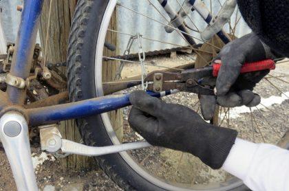 Foto de referencia de robo de bicicleta para ilustrar cuáles son las zonas de Bogotá donde más se hurtan bicicletas.