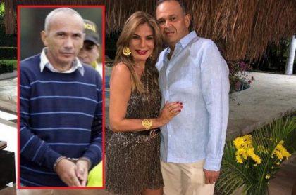 Marquitos Figueroa, María Mónica Urbina y el 'Ñeñe' Hernández.