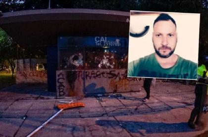 CAI Villa Luz, lugar en donde policías habrían golpeado a Javier Ordóñez e informado que había estado en una riña