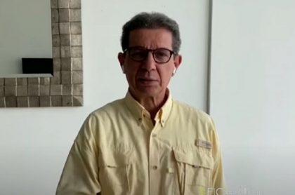 José Félix Lafaurie, presidente de Fedegán, que comparó a Ariel Ávila con un guerrillero.