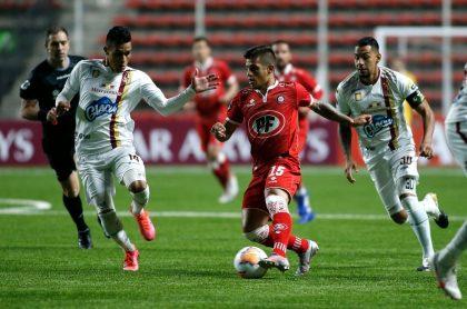 Deportes Tolima debutó en la Copa Sudamericana 2020 ante Unión La Calera.