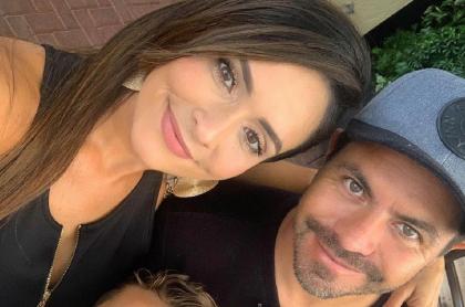 Piter Albeiro y Carolina Rojas, quien lo tildó de showsero y mentiroso por mensajes en San Valentín.