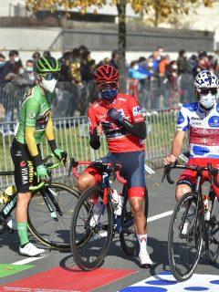 Etapa 8 de la Vuelta a España 2020; clasificación general.