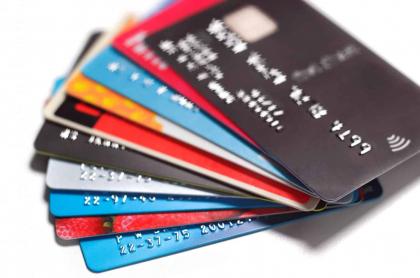 Foto ilustrativa de tarjetas de crédito.