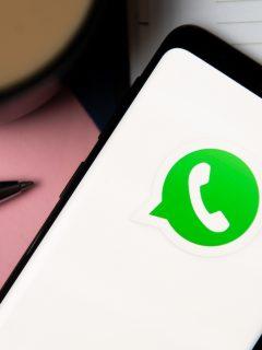 Logotipo de WhatsApp para ilustrar nota sobre el truco para cambiar el color de las letras a rojo