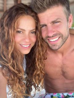 Foto de Shakira y Gerard Piqué, a propósito del nuevo integrante de su familia
