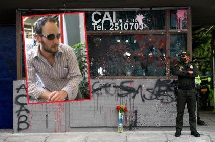 Javier Ordóñez y CAI de Villa Luz ilustran nota sobre testigo que dijo que intendente de ese CAI pudo salvarle la vida a Ordóñez