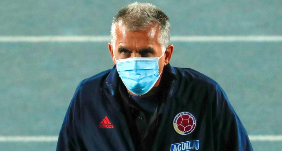 Convocatoria de Colombia para Eliminatoria saldrá el 8 de noviembre. Imagen de referencia de Carlos Queiroz, técnico del equipo.