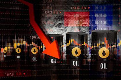 Precio del petróleo cae 5 %