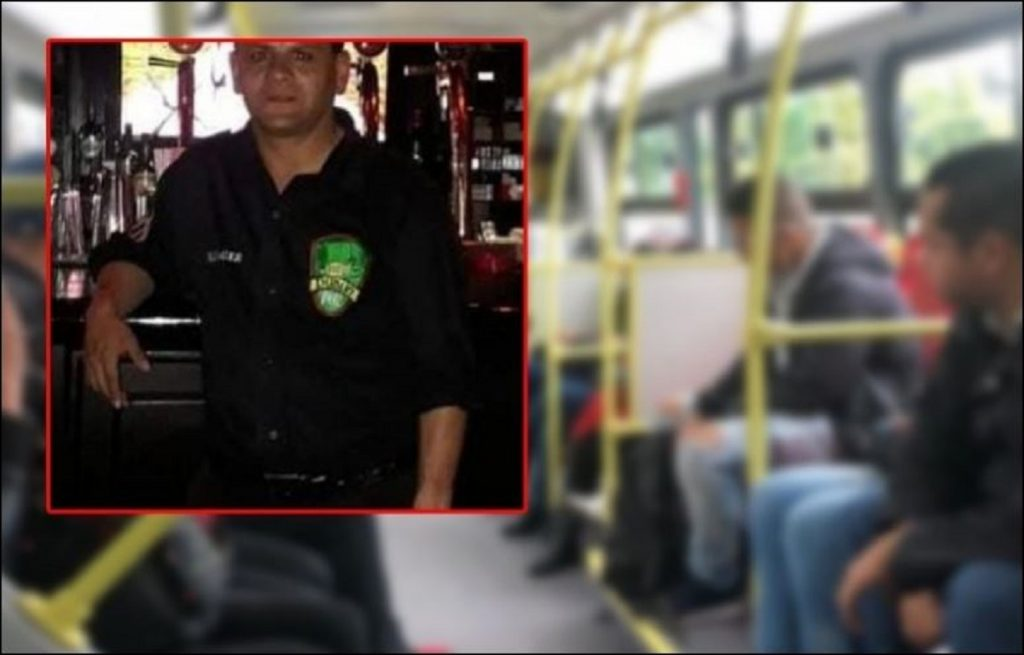 Oswaldo Muñoz, hombre asesinado en Transmilenio por robarle el celular - tomado de Diario Extra