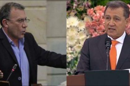 Roy Barreras y Ernesto Macías, dos de los que hablan del referendo para revocar a Duque