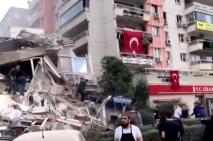 Temblor de 6,7 grados en Turquía deja daños materiales.