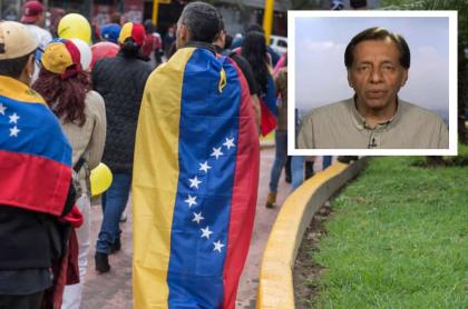 Imagen del panelista deBluRadio que dice: Colombia debe recibir a venezolanos