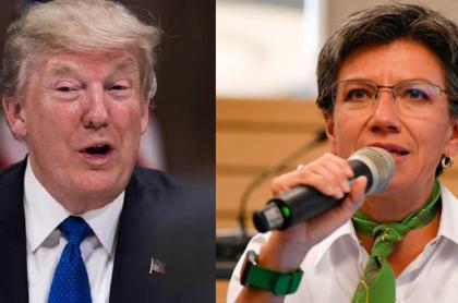 Galán dice que C. López le recordó a Trump por sus frases
