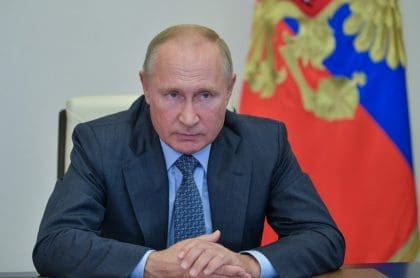 Presidente de Rusia, Vladimir Putin, quien aseguró vacunará a su población a fin de año