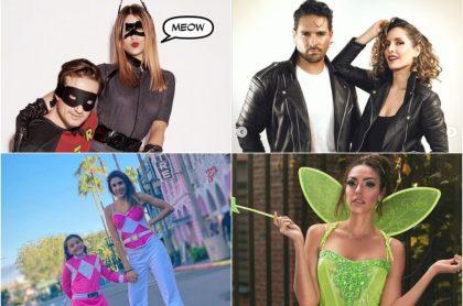 Galería de fotos de famosos colombianos disfrazados para sombrío Halloween