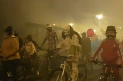 Caravanas por Halloween en Colombia