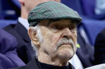 Sean Connery, fallecido este sábado, captado en agosto de 2017, en el barrio de Flushing del distrito de Queens, de Nueva York.