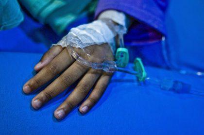 Joven hospitalizada luego d eun ataque con ácido. (Imagen de referencia).