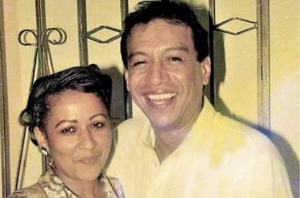 Diomedes Díaz, con una de las parejas que tuvo, su esposa Patricia Acosta, ilustra nota de antes y después de las mujeres del 'Cacique de La Junta'.