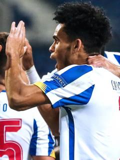 Gol de Luis Díaz en 3-0 del Porto al Marsella en Champions.