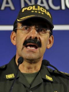 Rodolfo Palomino, exdirector de la Policía acusado por la Fiscalía de tráfico de influencias