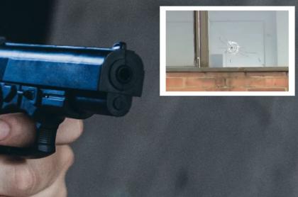 Imagen de arma, que ilustra nota de balacera al frente del Liceo Francés, en Bogotá
