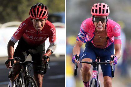 Nairo Quintana y Rigoberto Urán en el Tour de Francia, esposas de los ciclistas colombianos