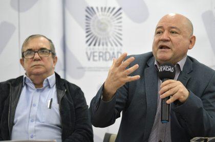 'Timochenko' y Carlos Antonio Lozada, que no hablarán ante la Fiscalía del caso de Álvaro Gómez Hurtado