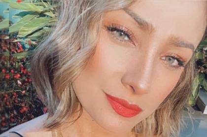 Selfi de Mónica Jaramillo, quien encantó con foto mañanera y al natural.