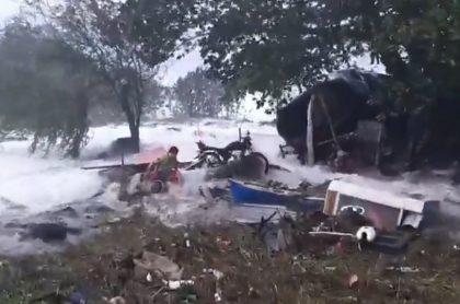 Desastres en la isla de San Andrés y Providencia por coletazo de huracán Eta.