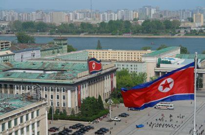 Plaza en Corea del Norte