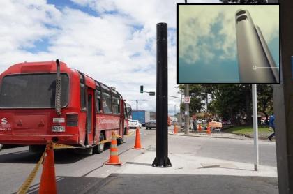 Foto de Cámara salvavidas, ilustra nota de dónde están ubicadas las cámaras de fotomultas en Bogotá.