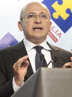 El exfiscal general Eduardo Montealegre.