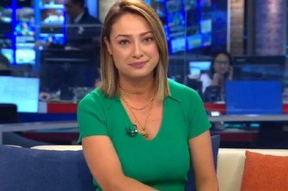 Mónica Jaramillo, expresentadora de Noticias Caracol.