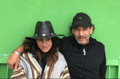 Foto de Paola Turbay y Alejandro Estrada, quienes tiene secretos para mantener su matrimonio