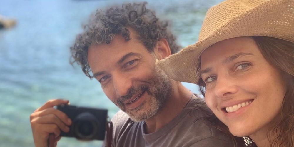 Foto de Paola Turbay y Alejandro Estrada, su esposo