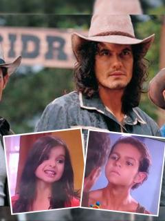 'Óscar Reyes', 'Juan Reyes' y 'Franco Reyes' fueron algunos de los personajes de 'Pasión de Gavilanes' que pasaron por un filtro de Snapchat que los mostró como si fueran niños.