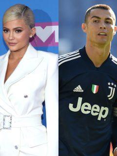 Fotomontaje de Kylie Jenner y Cristiano Ronaldo, los 'influenciadores' mejor pagados del mundo
